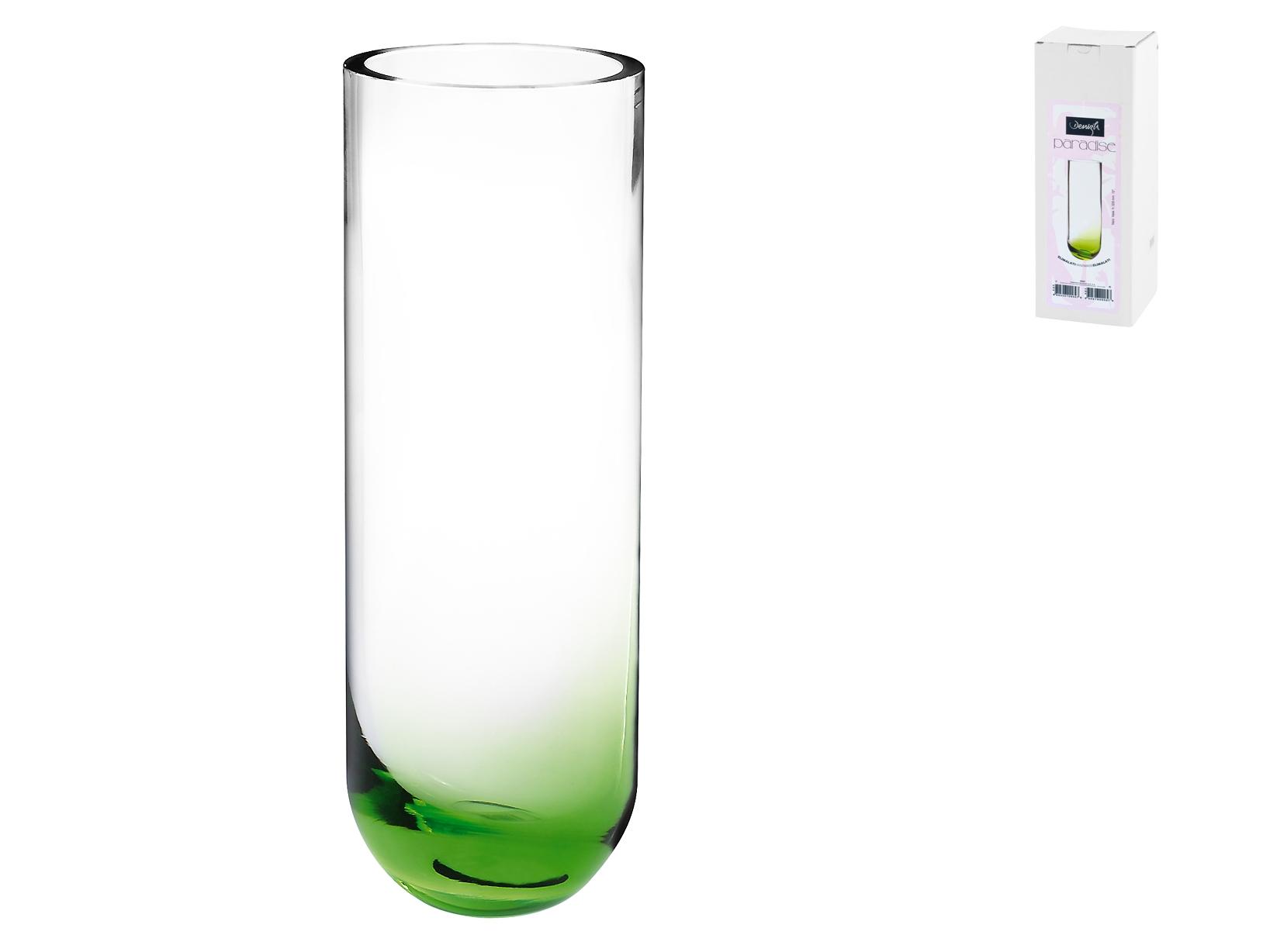Vaso In Vetro Fondo Verde