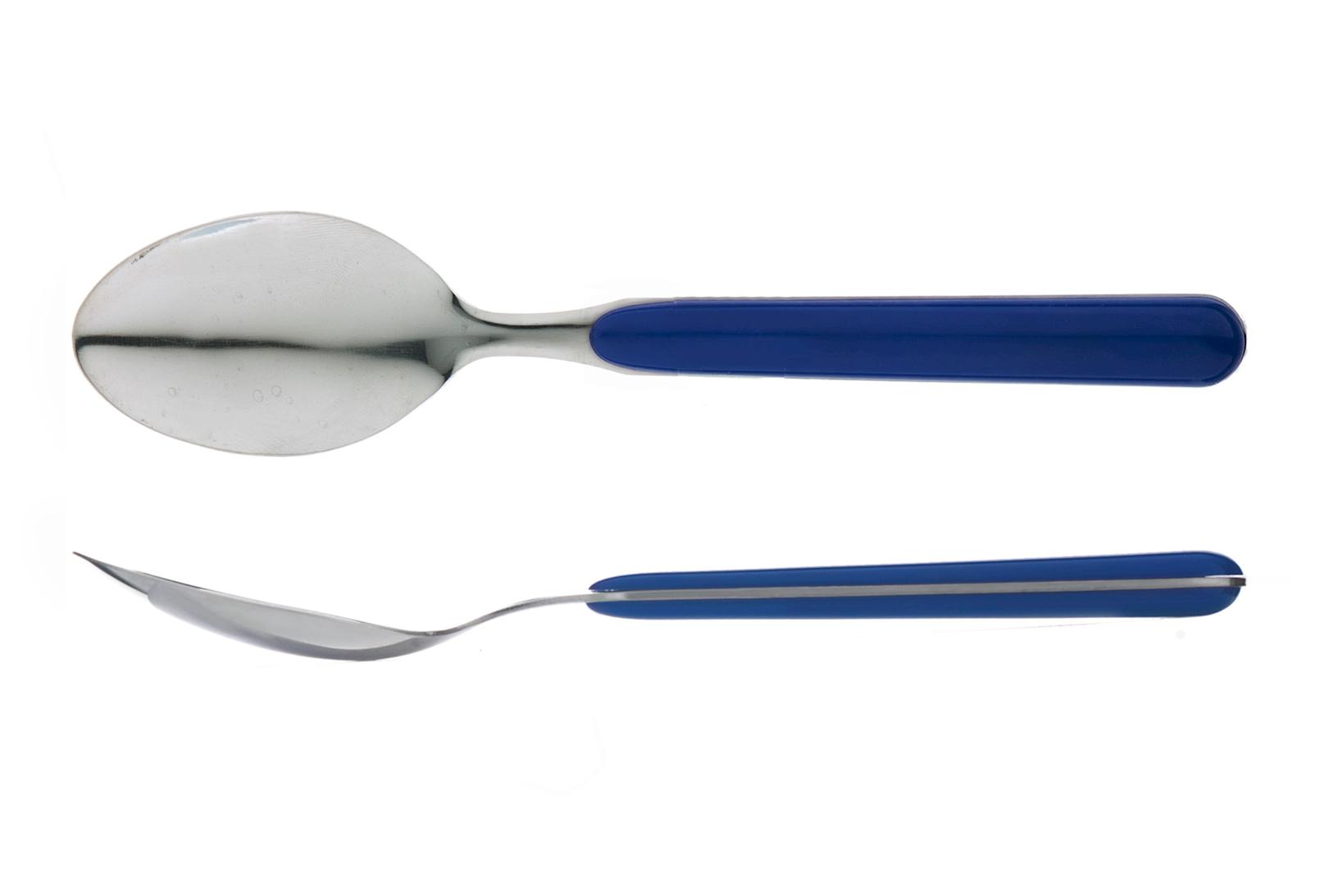 2 Cucchiai Tavola Pasha Blu' 12    *pk