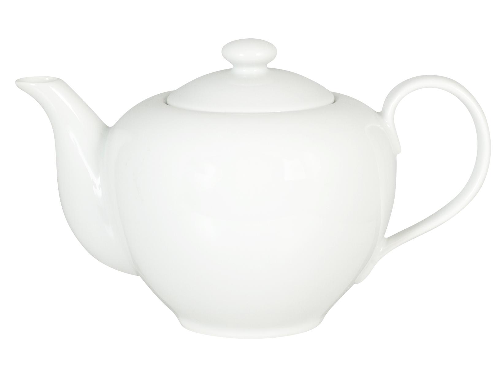 Teiera In Porcellana, 1.1 L, Bianco
