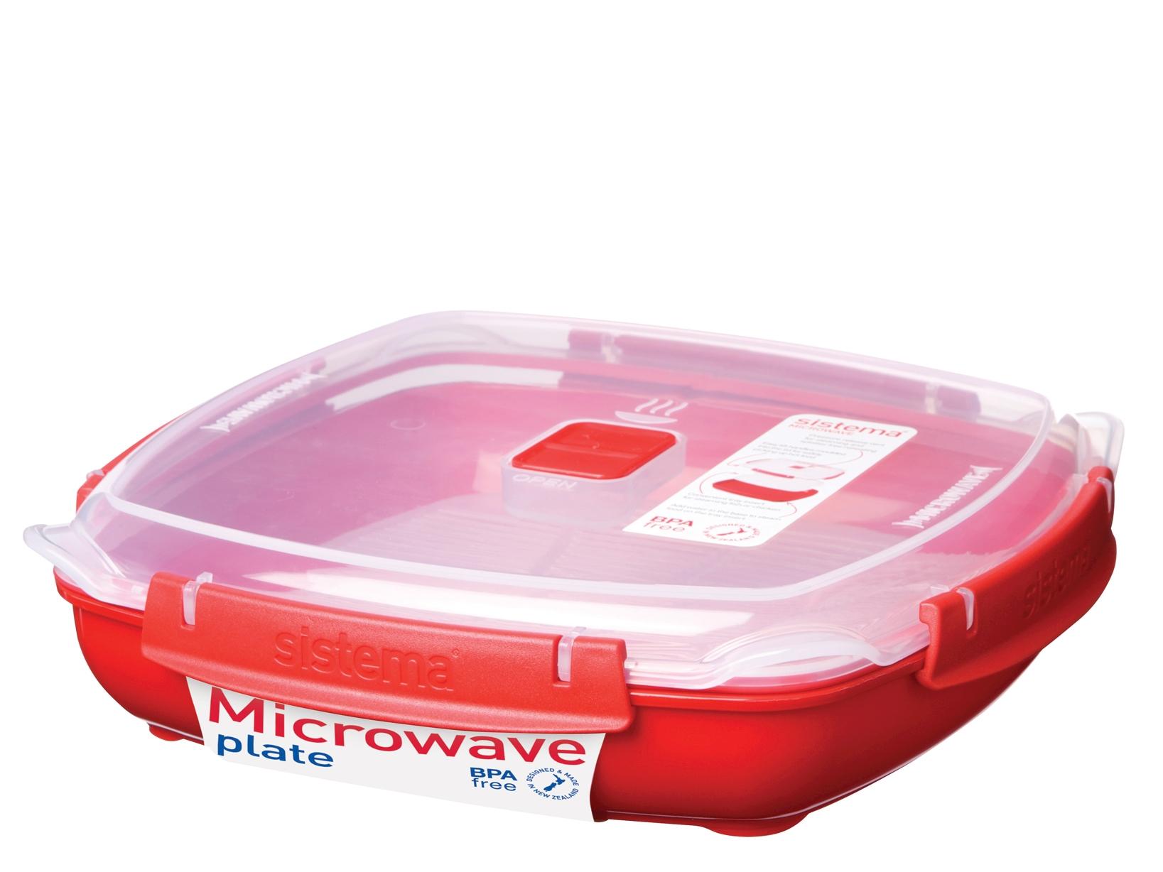 Contenitore In Polipropilene Microwave Quadrata Lt1,3  1106