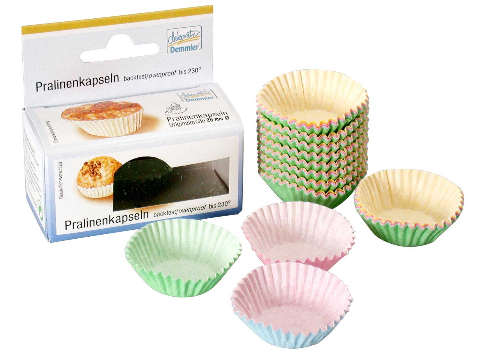 Confezione 150 Pirottini Cm2,6 Colore Ass2612