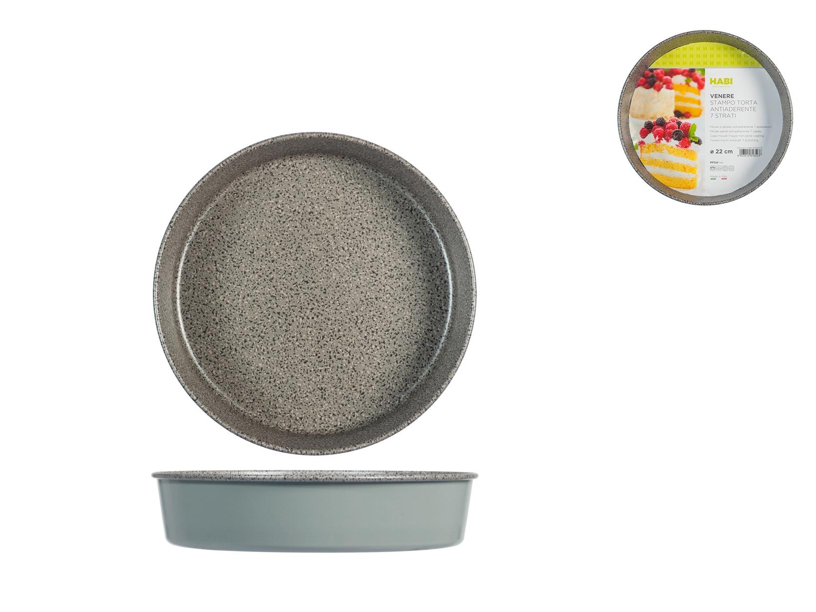 Stampo Torta Antiaderente Alto Venere Cm22
