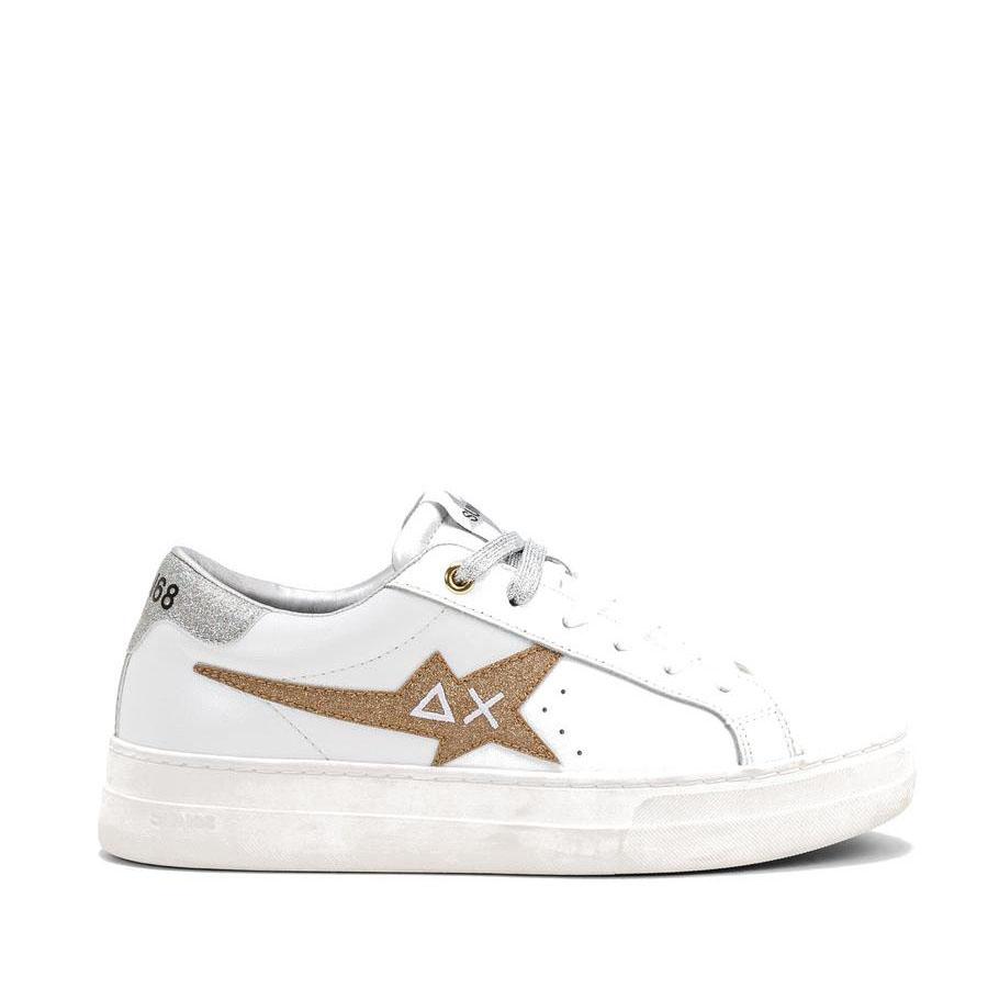 Sneakers Sun68 Donna Betty Oro/Argento Z41233 4344ORO/ARG -A.1