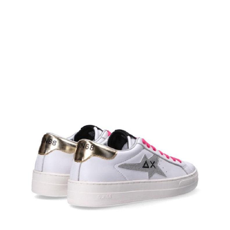 Sneakers Sun68 Betty Bianco/Argento Z41237 0144BIANCO/ARG -A.1