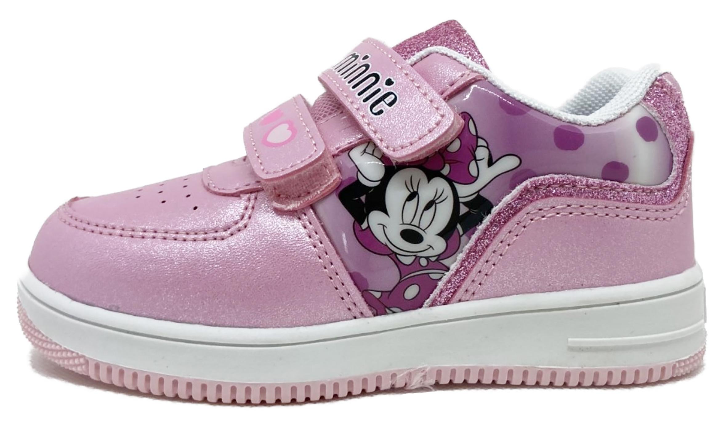 Scarpe Minnie Bambina dal 24 al 32 Rosa Disney Autunno Inverno 2021 2022