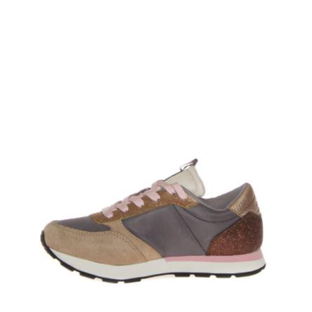 Sneakers Sun68 Girl's Kate Glitter Z41410 34GRIGIO -A.1