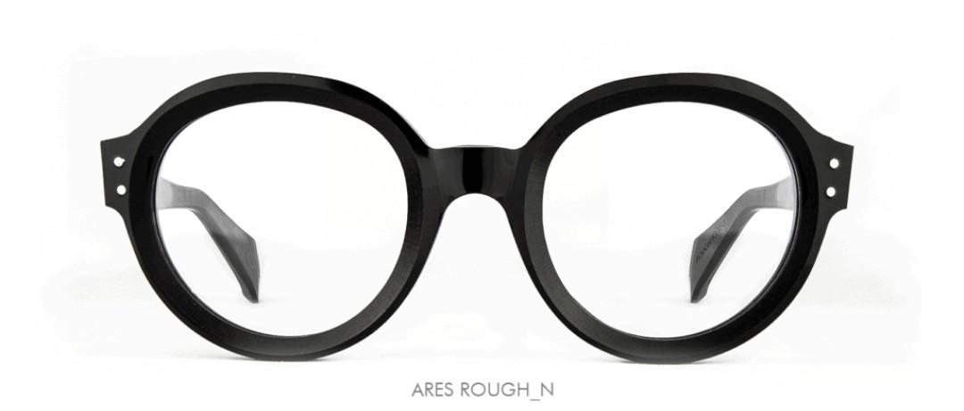 Dandy's eyewear Ares Nero, Rough version