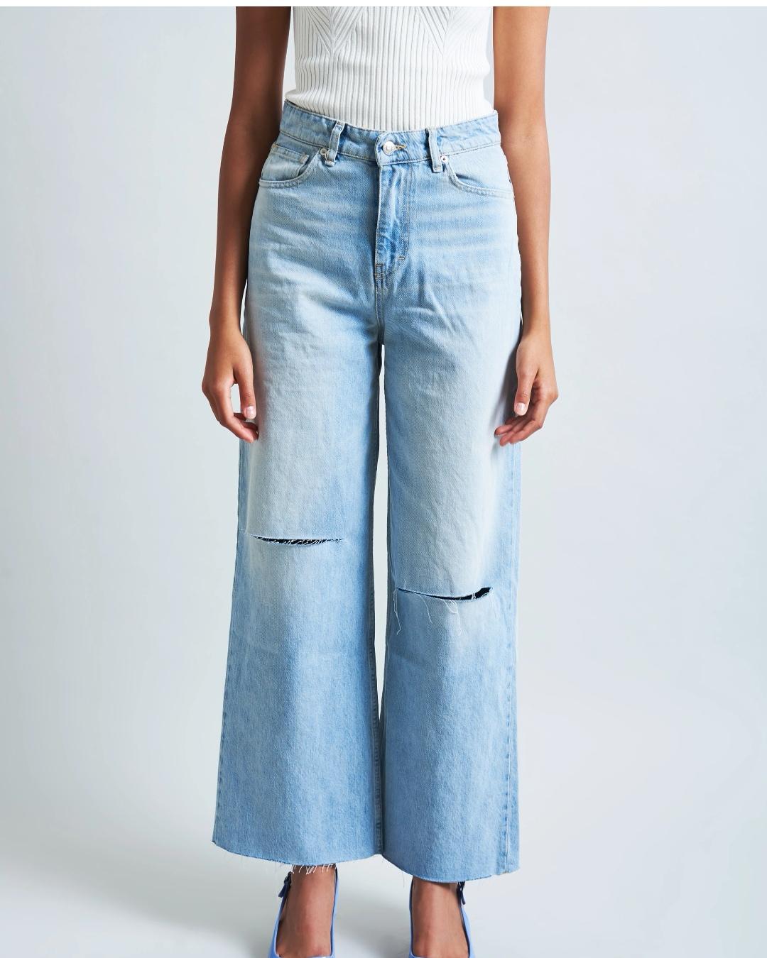 Vicolo jeans palazzo tagli