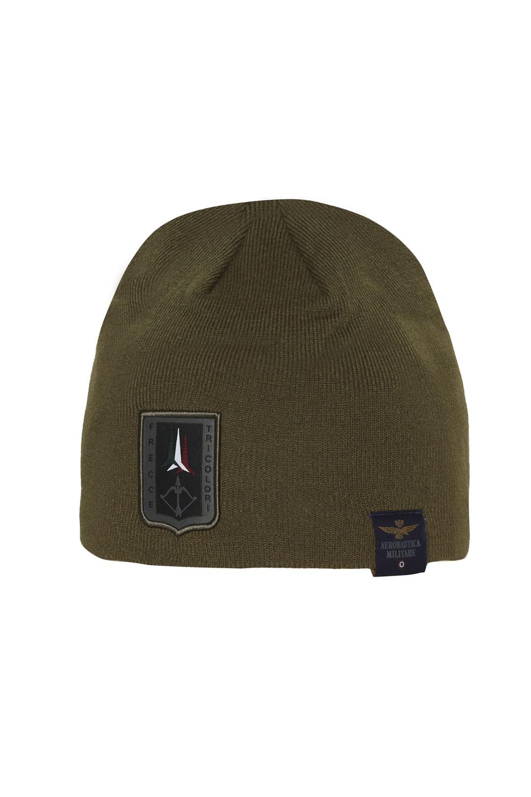 Frecce Tricolori knit cap with patch     2