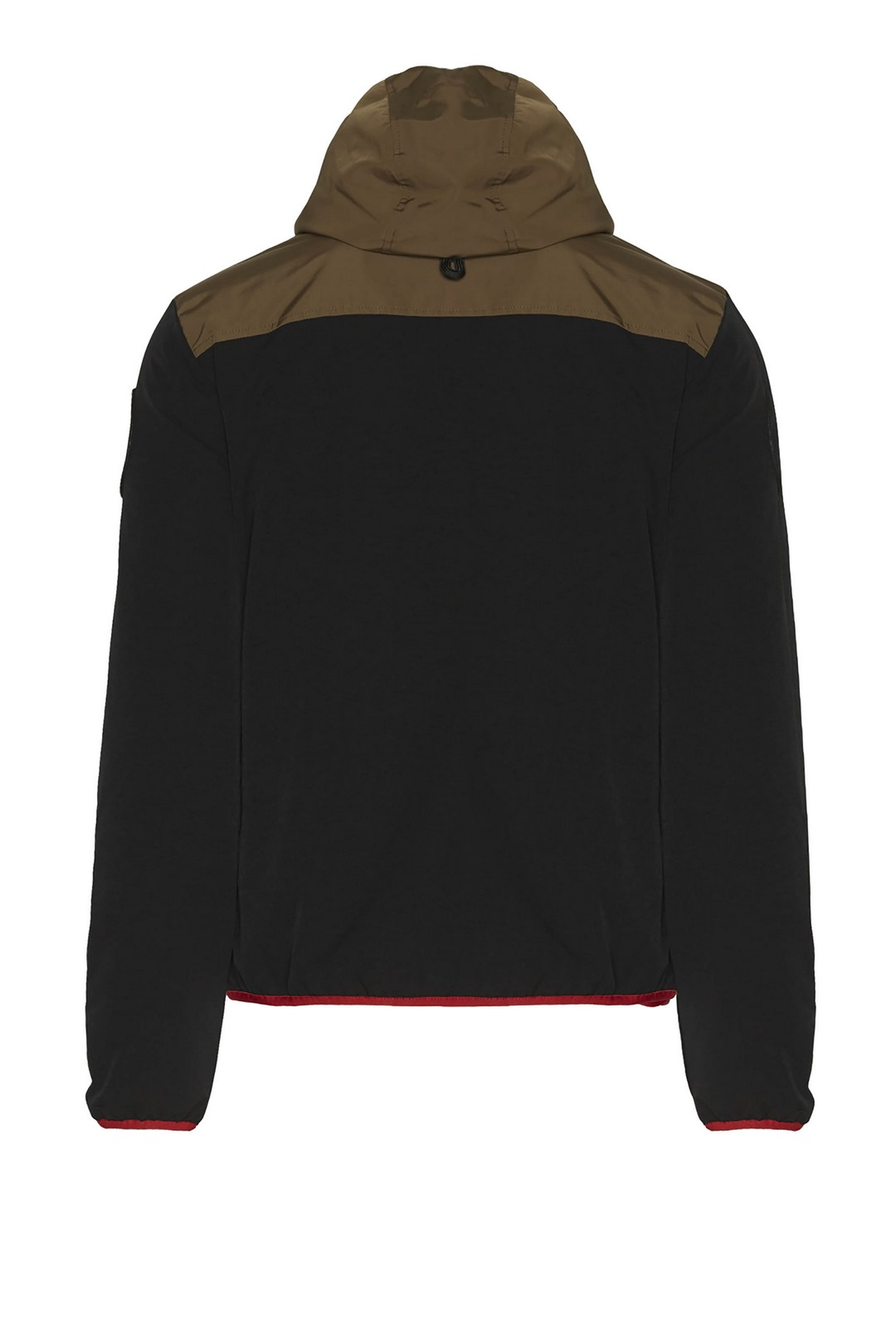 Technical stretch jacket with hood       2