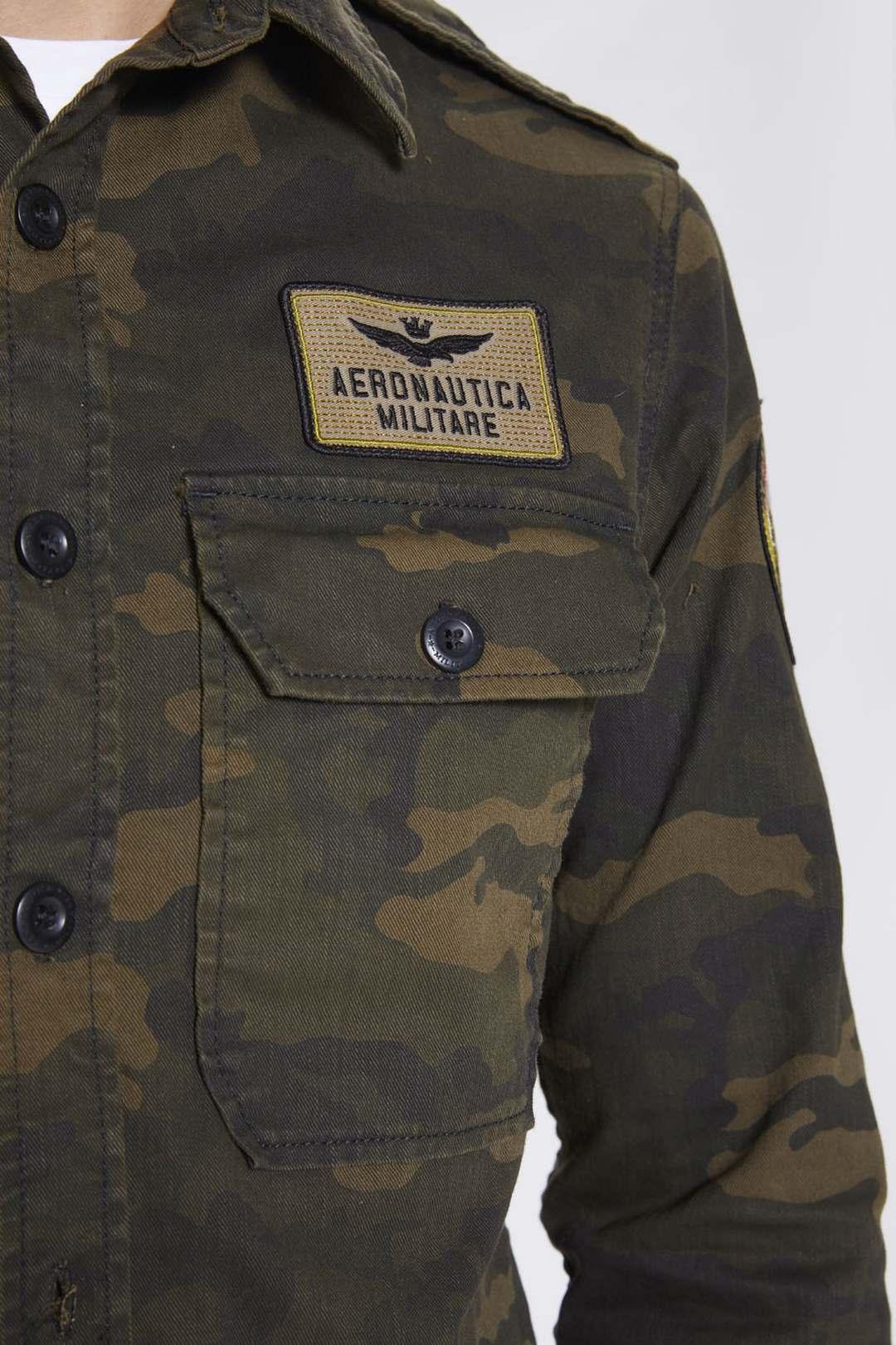 Camouflage-Baumwollhemd                  5
