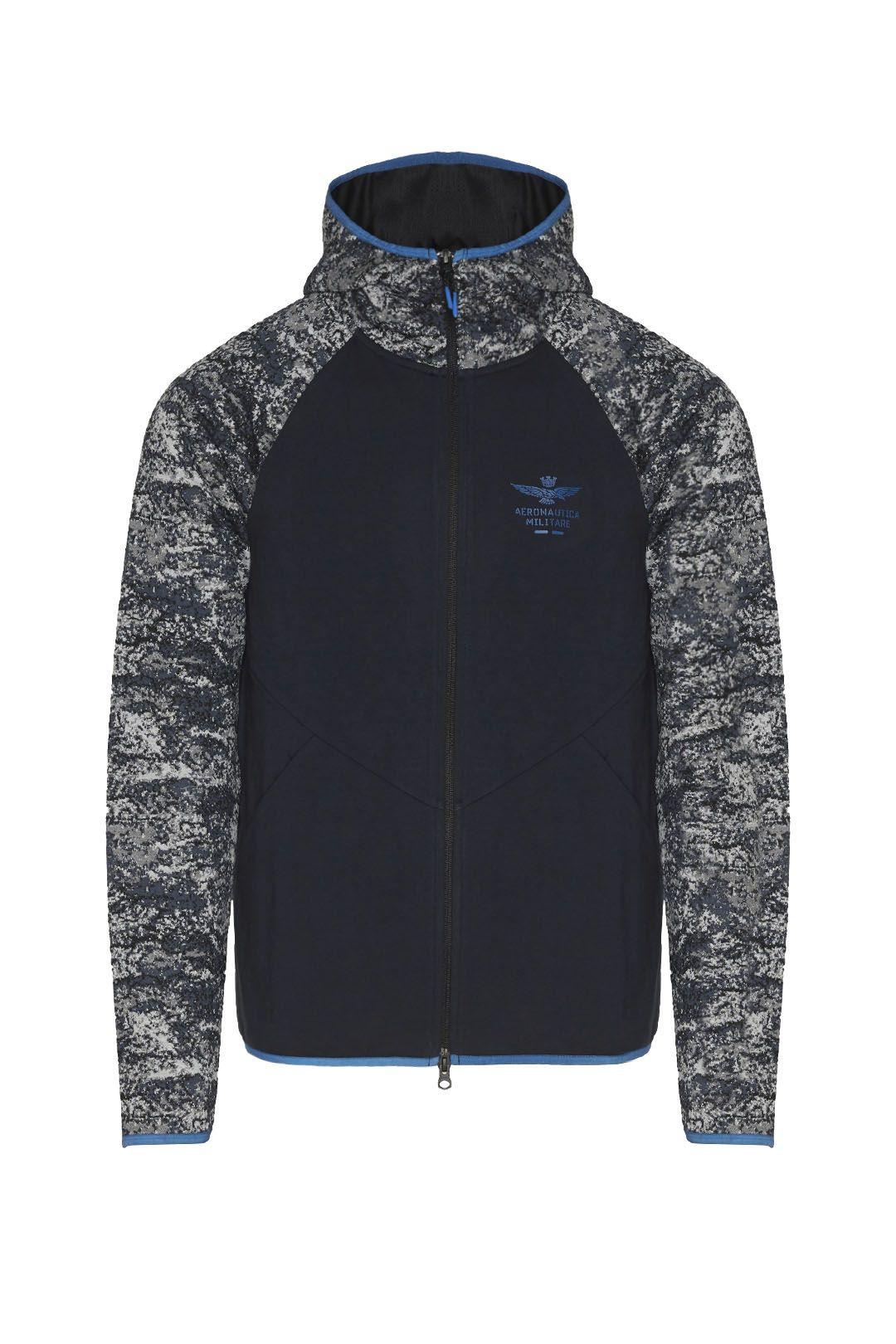 Sweatshirt élastique en jacquard camou   1