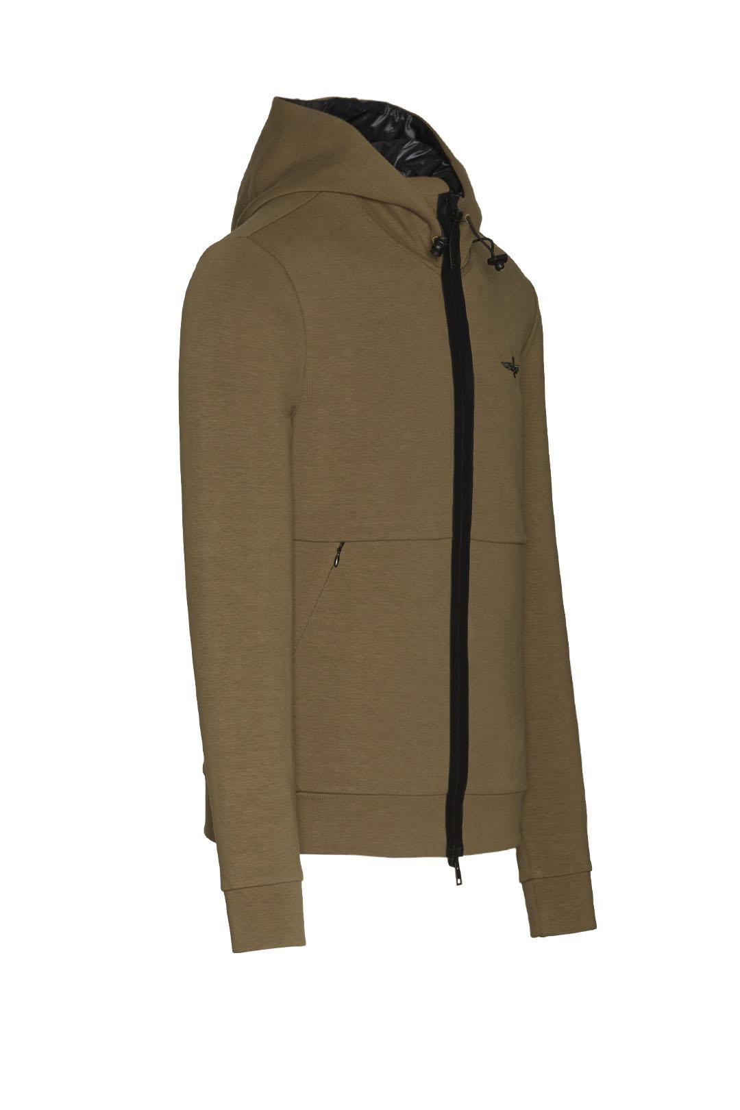 Interlock cotton hooded sweatshirt       3