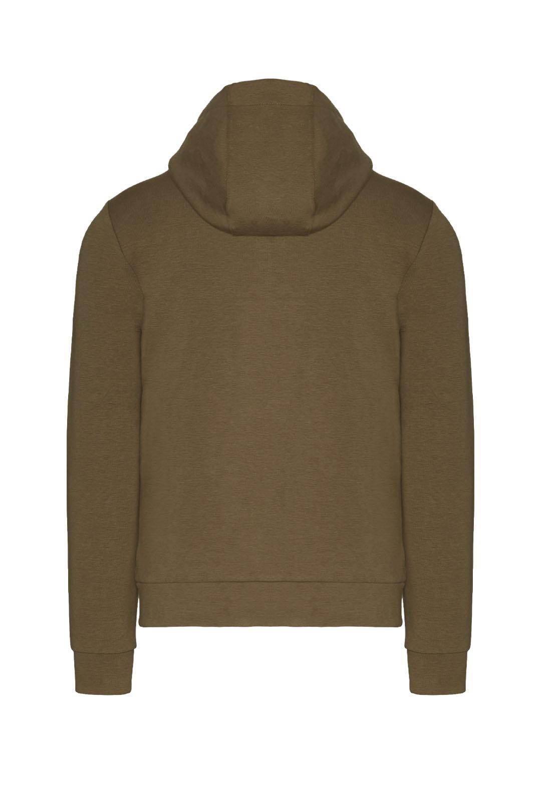Interlock cotton hooded sweatshirt       2
