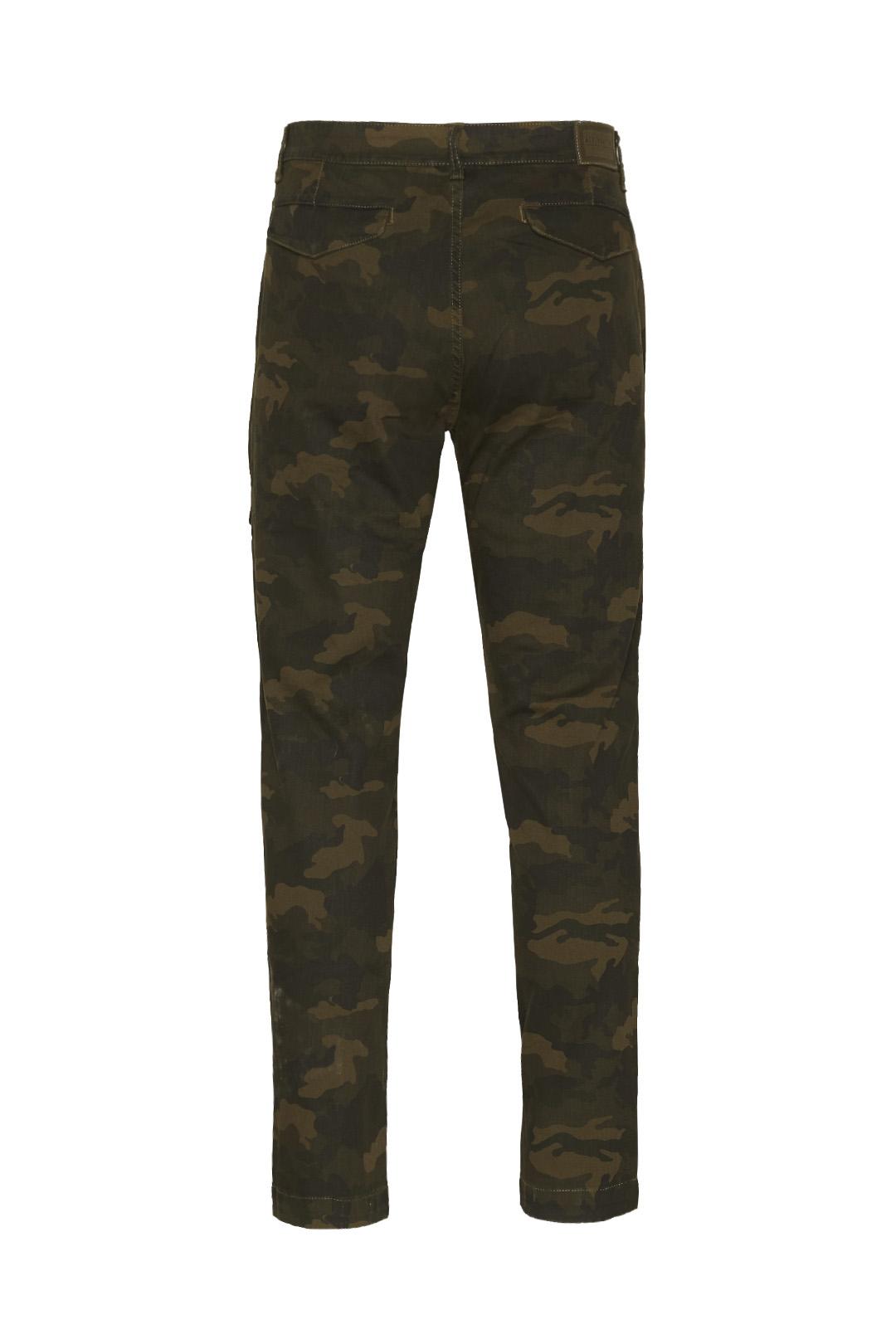 Pantalon multipoches camouflge           2