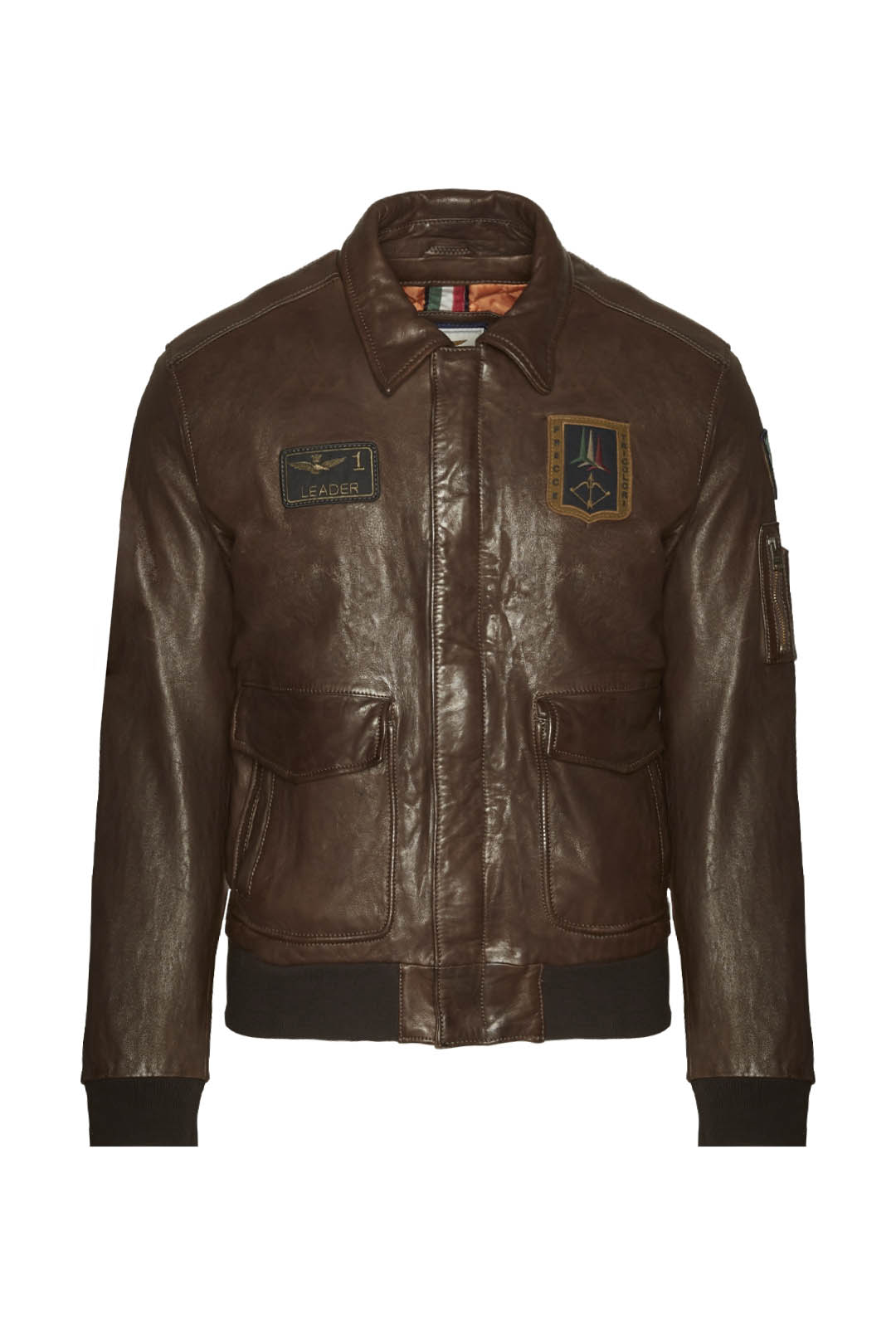 Frecce Tricolori Pilot leather jacket    1