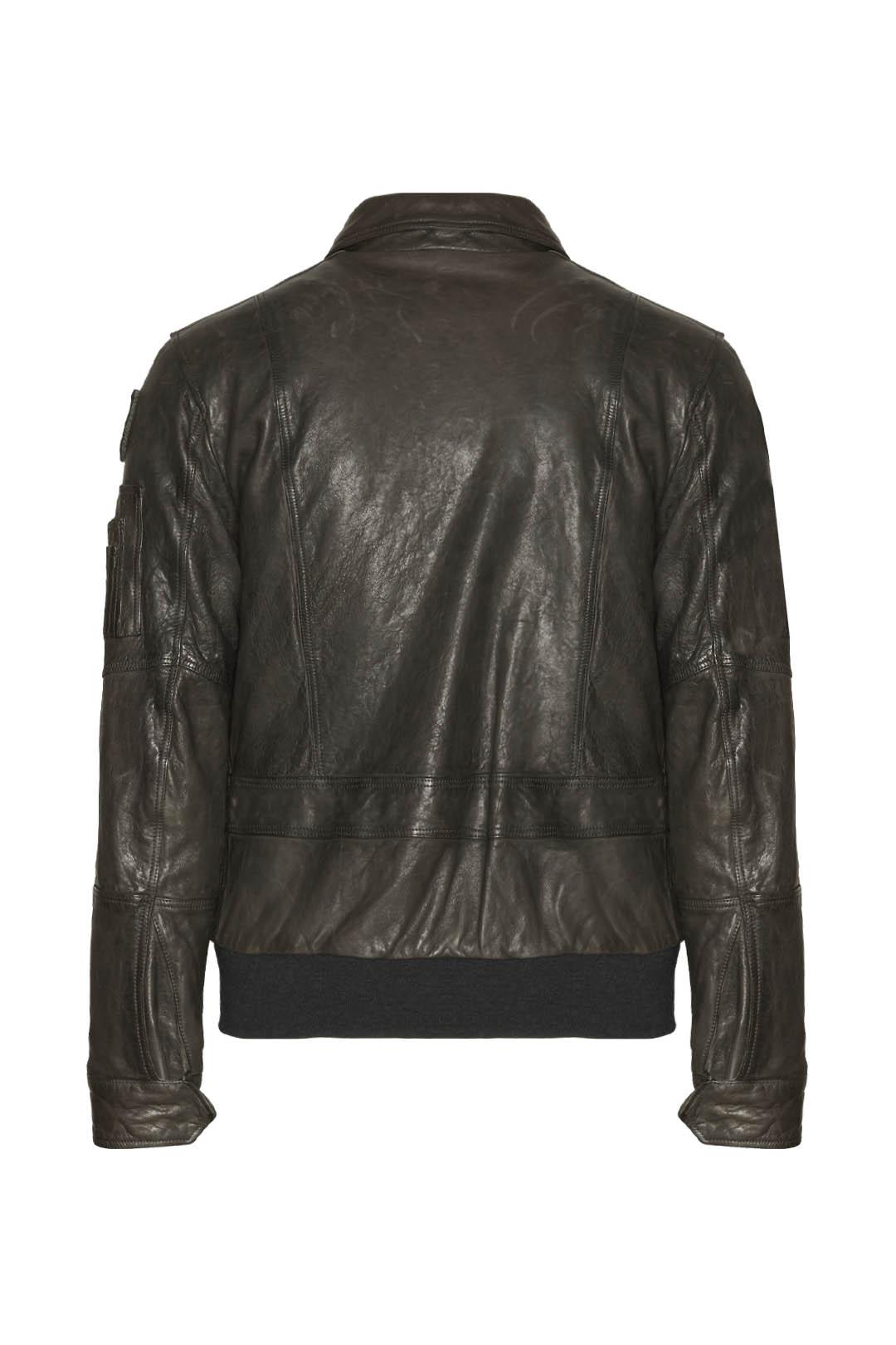 Frecce Tricolori Pilot leather jacket    2