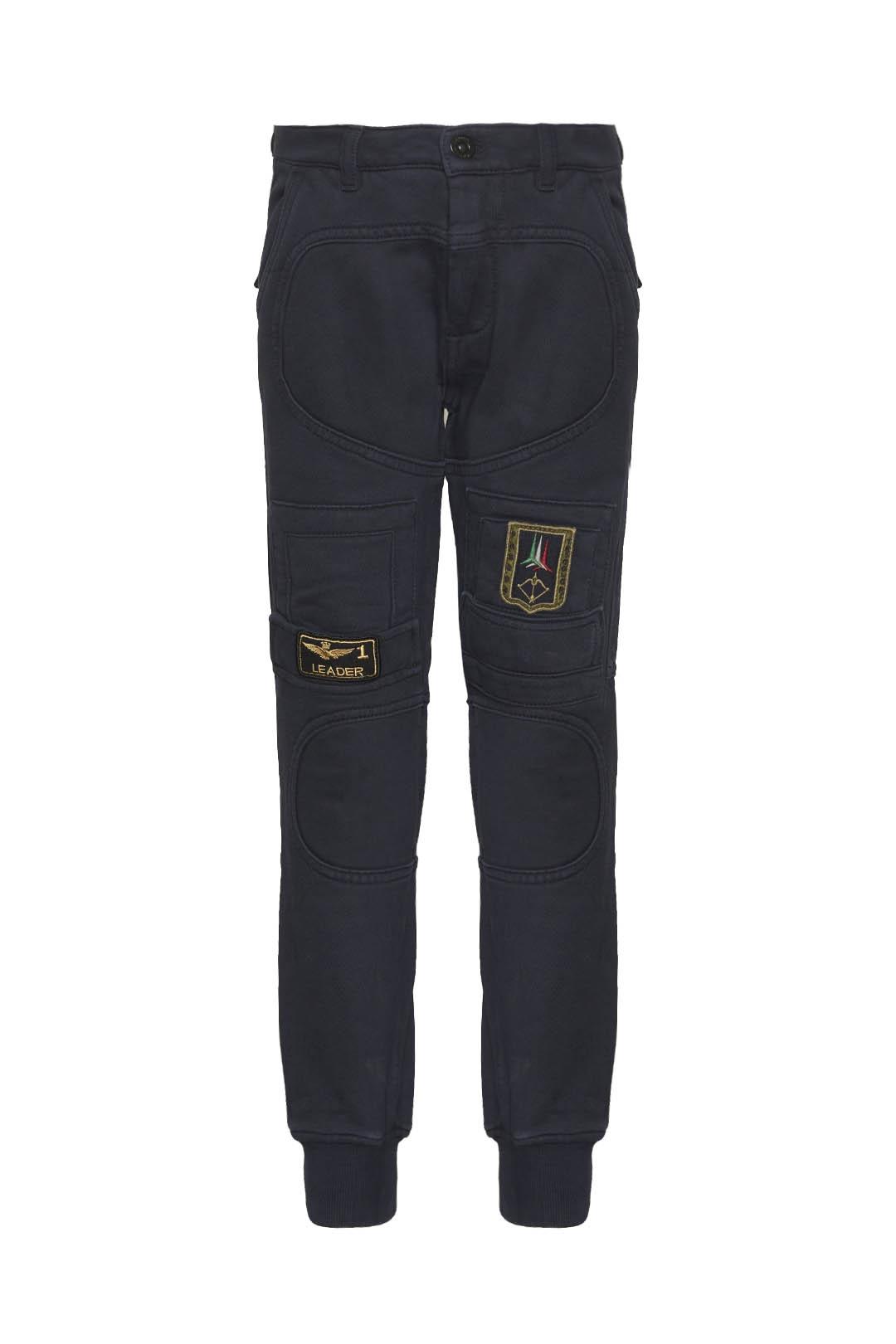Pantalone Anti-G in felpa di cotone      1