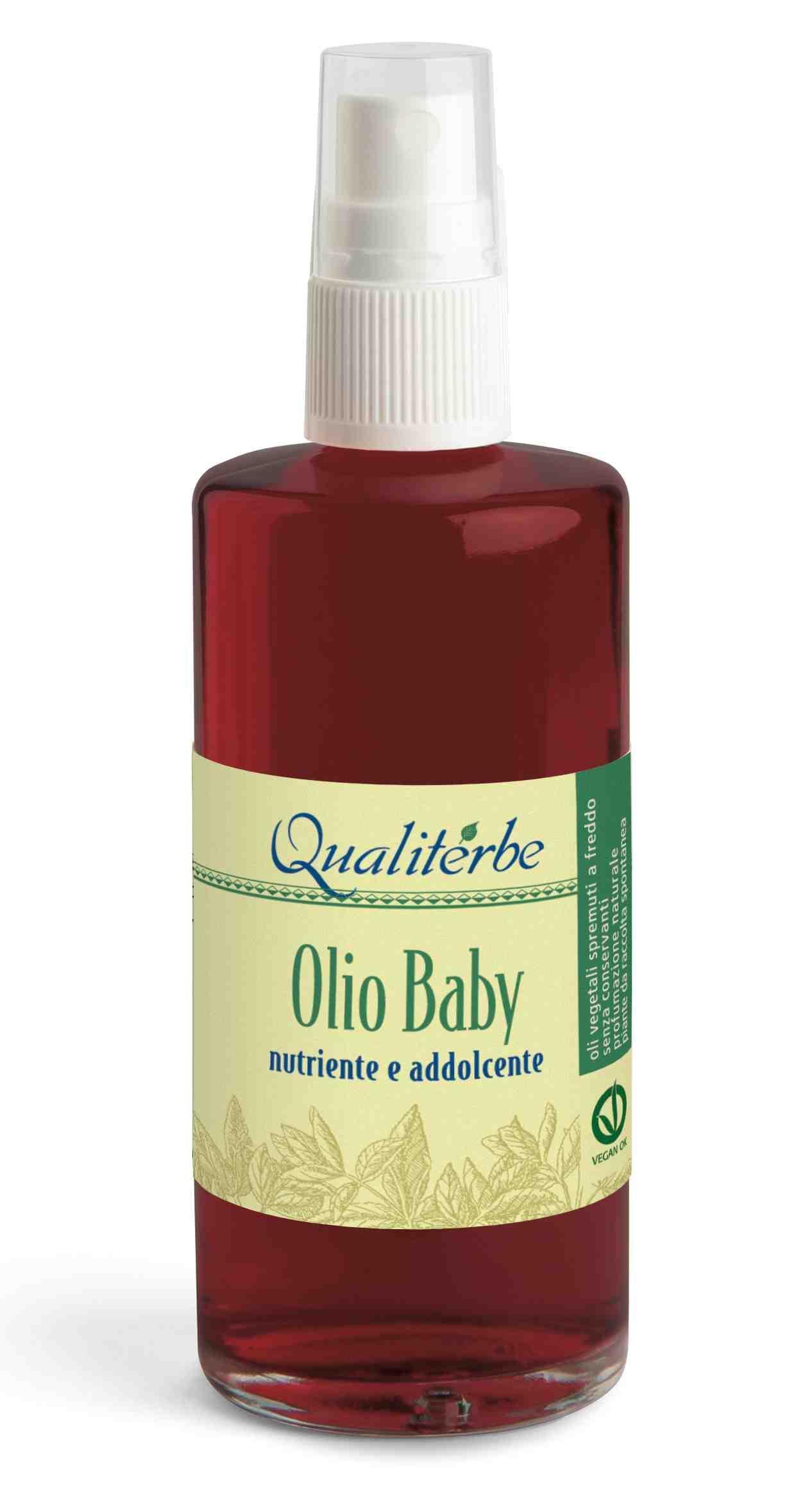 Olio Baby per Neonati 100% Naturale by Qualiterbe