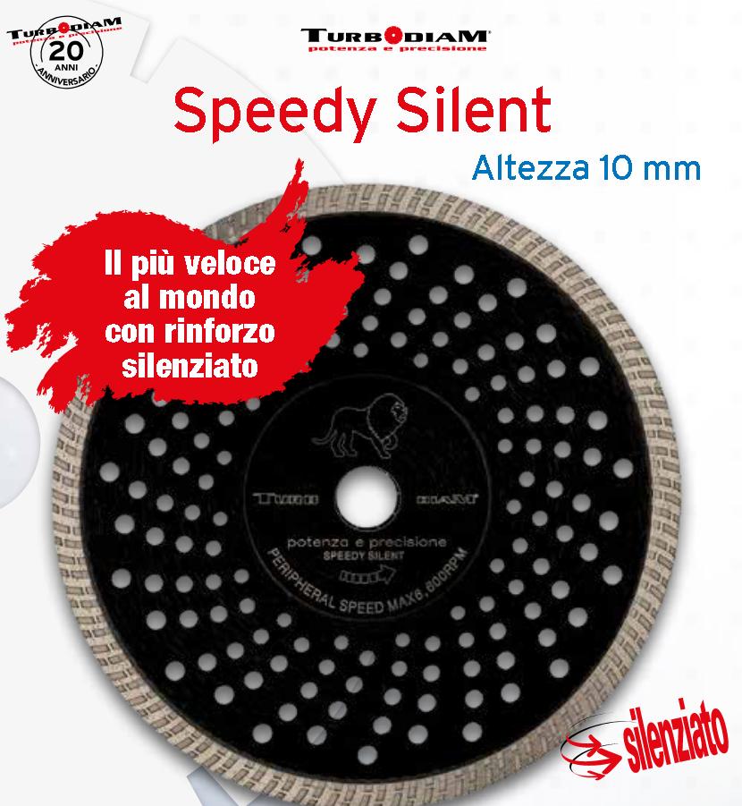 DISCO DIAMANTATO SPEEDY SILENT D.115 TURBODIAM