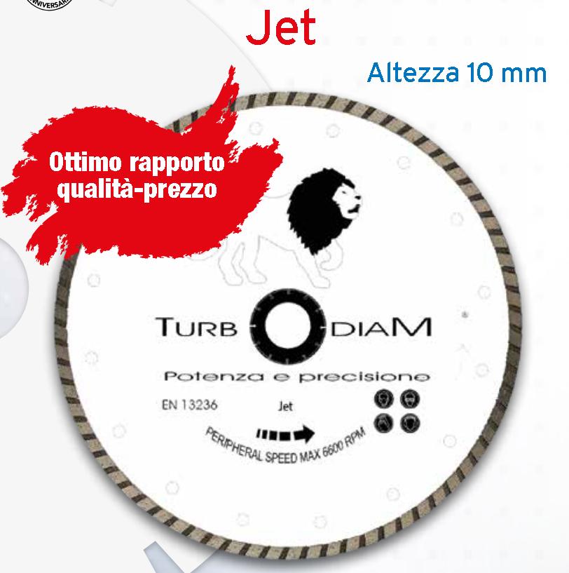TURBOJET  DIAM 115 DISCO DIAMANTATO PROFESSIONALE - TURBODIAMAN