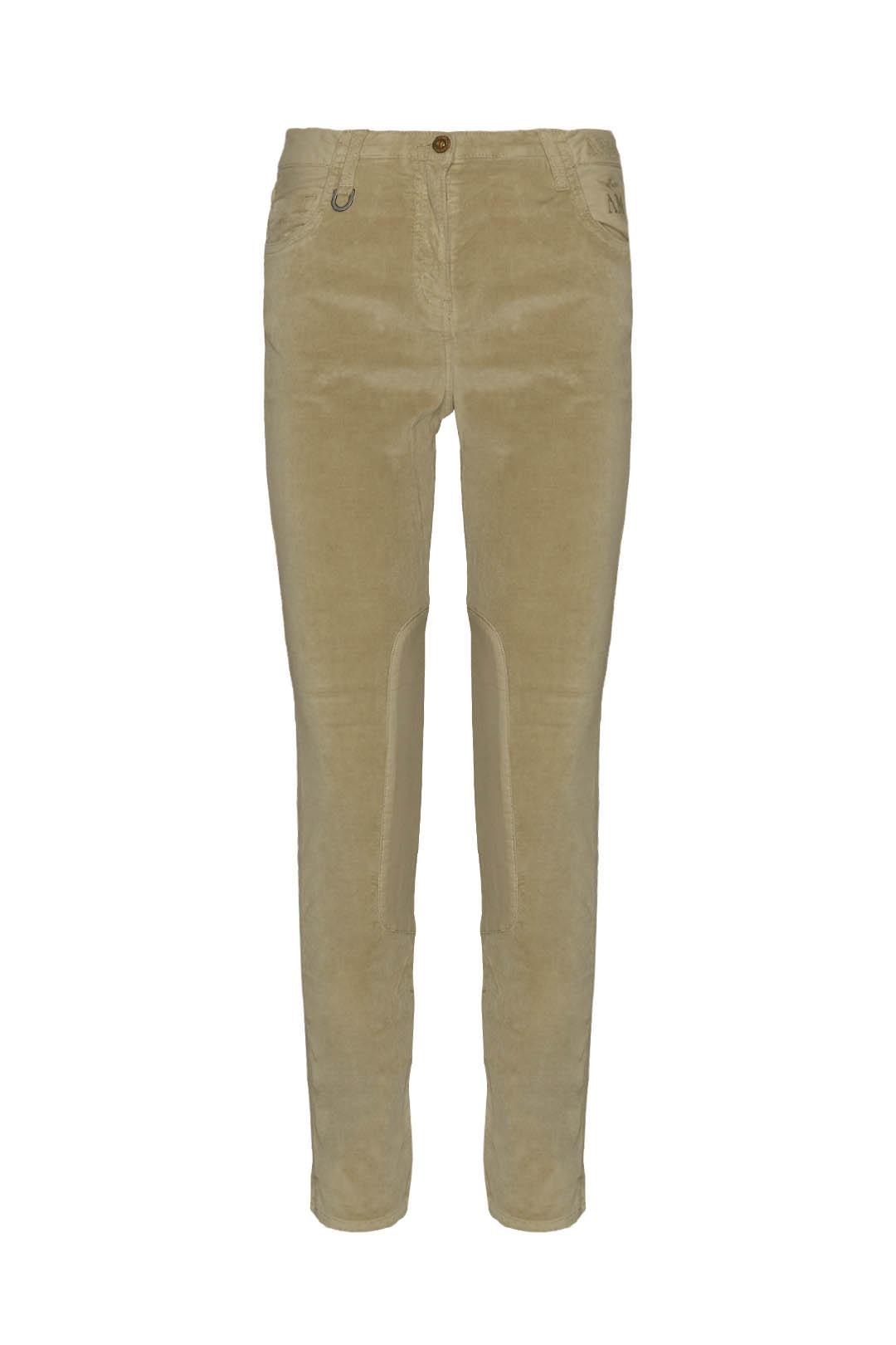 Pantalon à 5 poches en velours           1