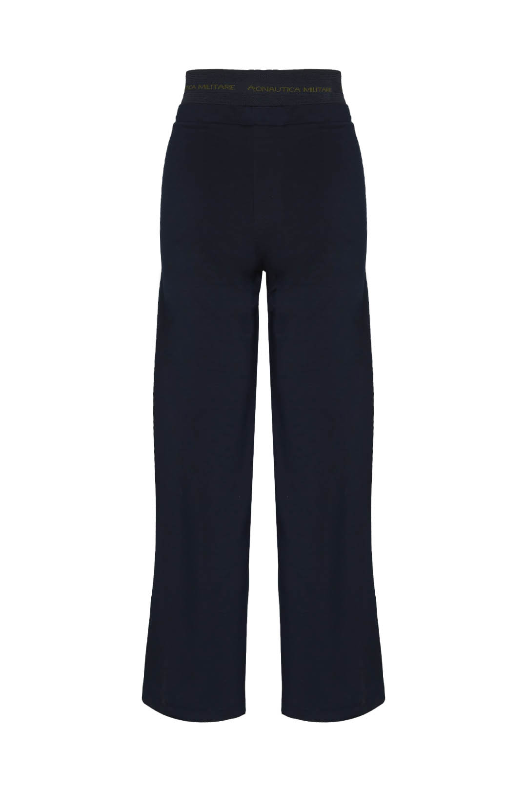 Stretch flared sweatpants with velvet    2