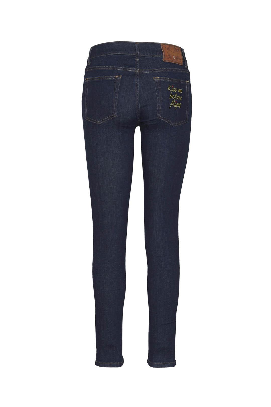 5-pockets super-stretch denim jeans      2