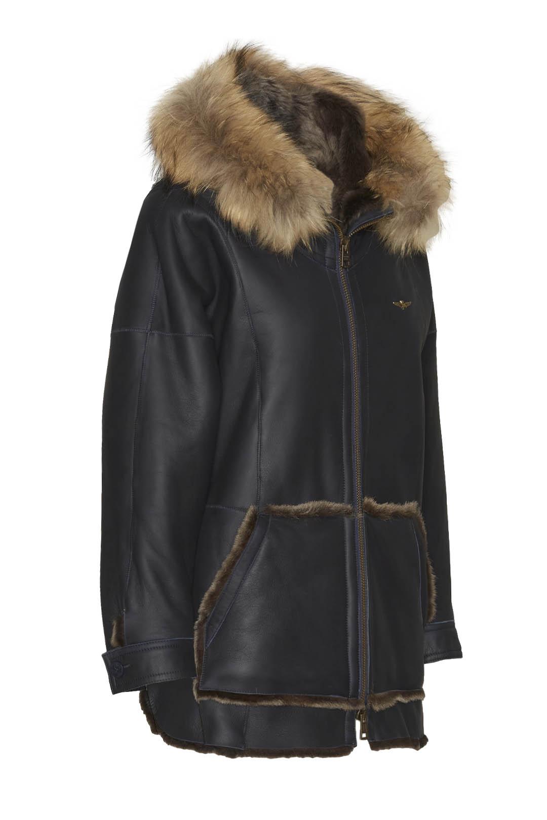 Sheepskin coat in Nappa leather          3