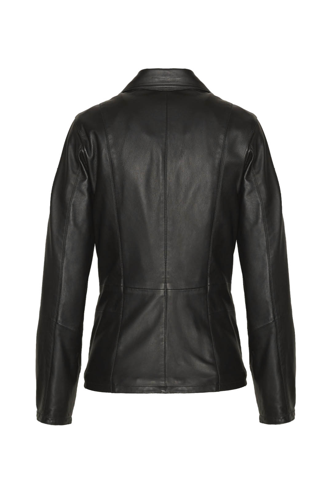 Multipatches buff leather aviator coat   2