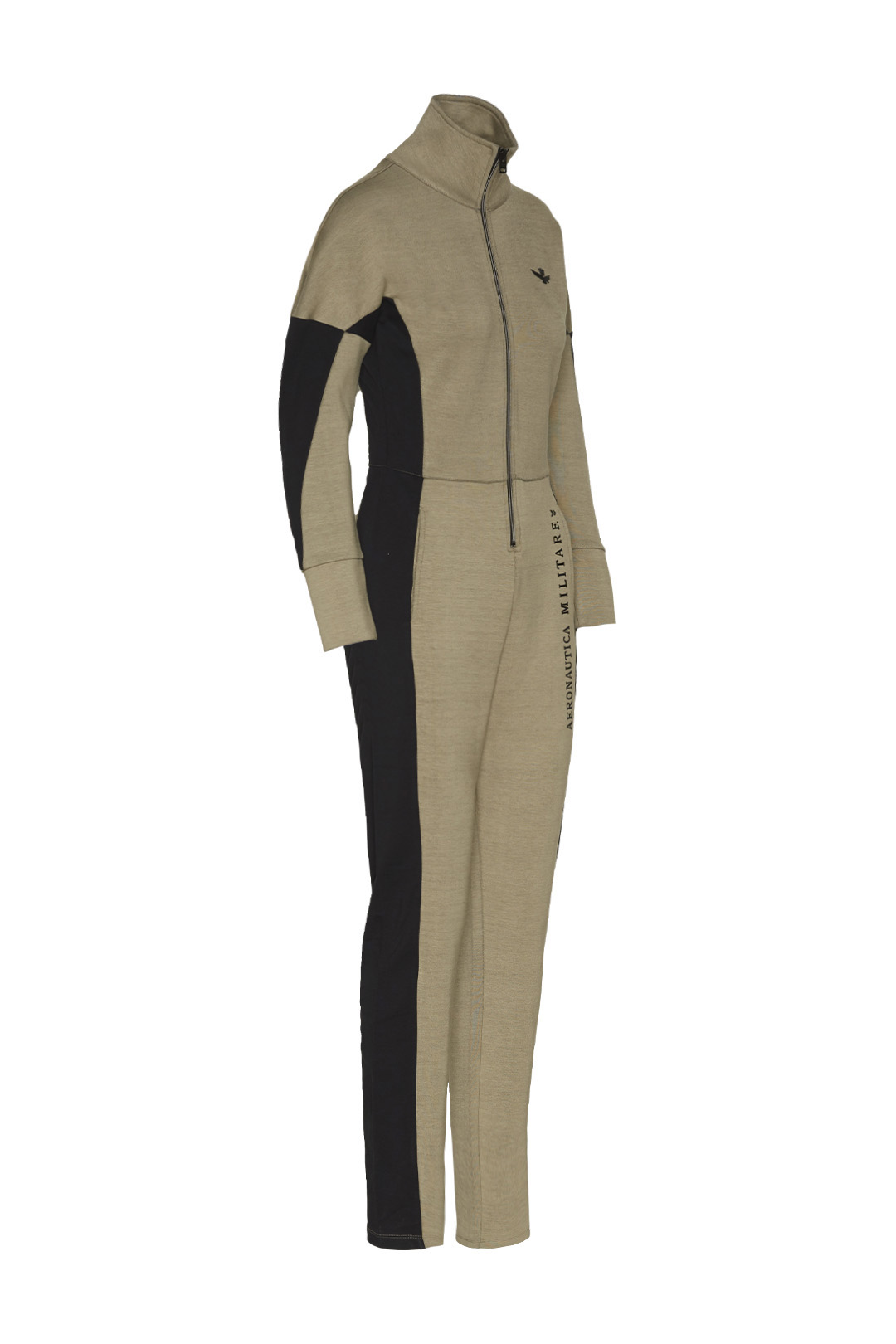Interlock jumpsuit with flared sleeves   3