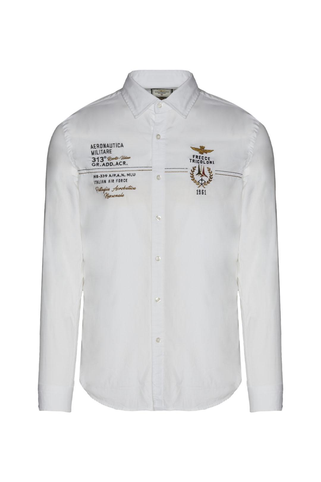 Camisa Frecce Tricolori de popelina      1