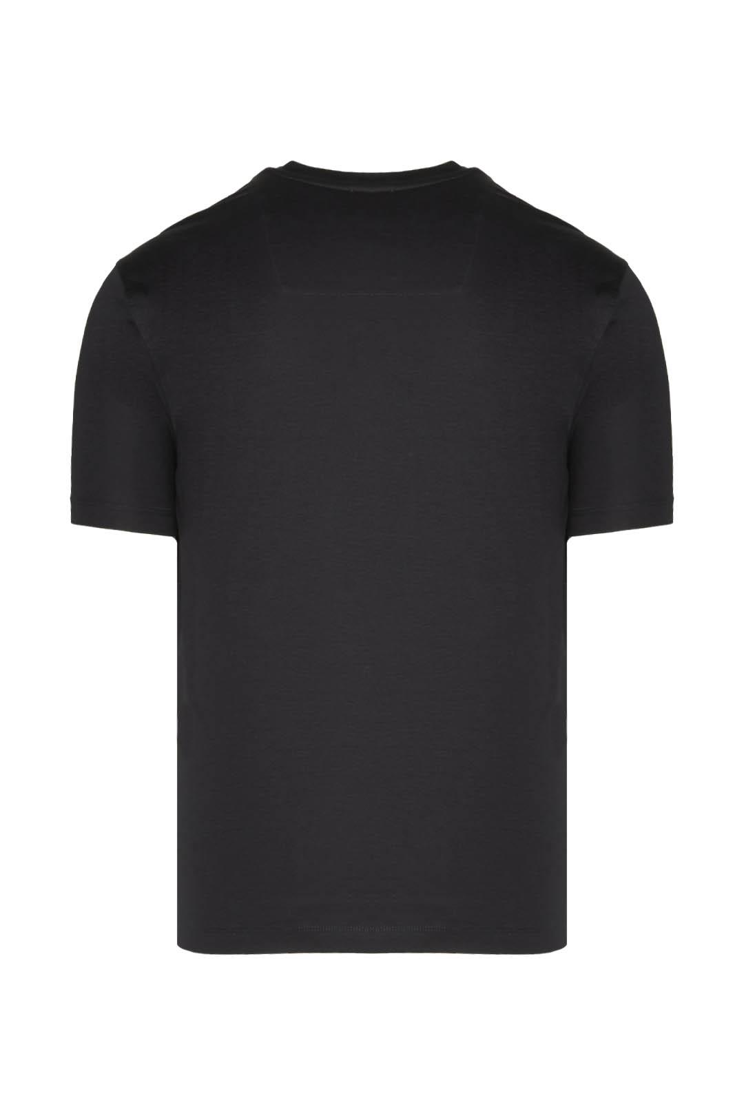 T-Shirt mit trikolorem Adler             2