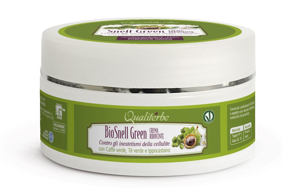 Bio Crema Snell Green Anticellute 100% Naturale by Qualiterbe