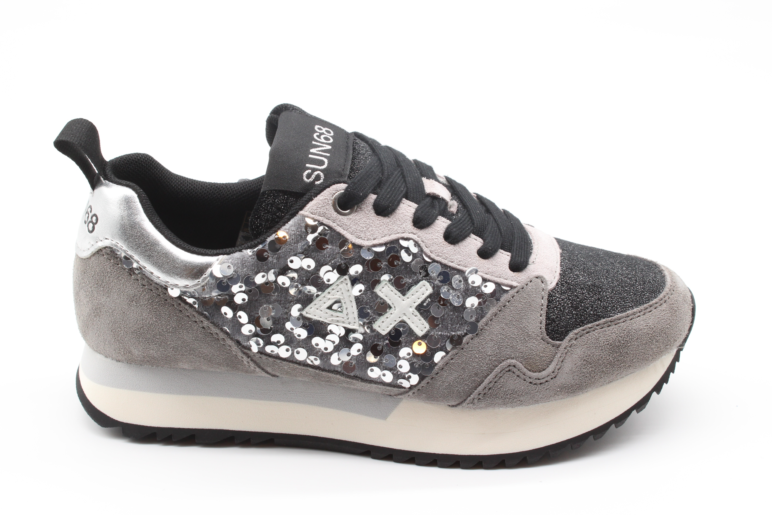 SUN68 Sneakers Donna Kelly Paillettes