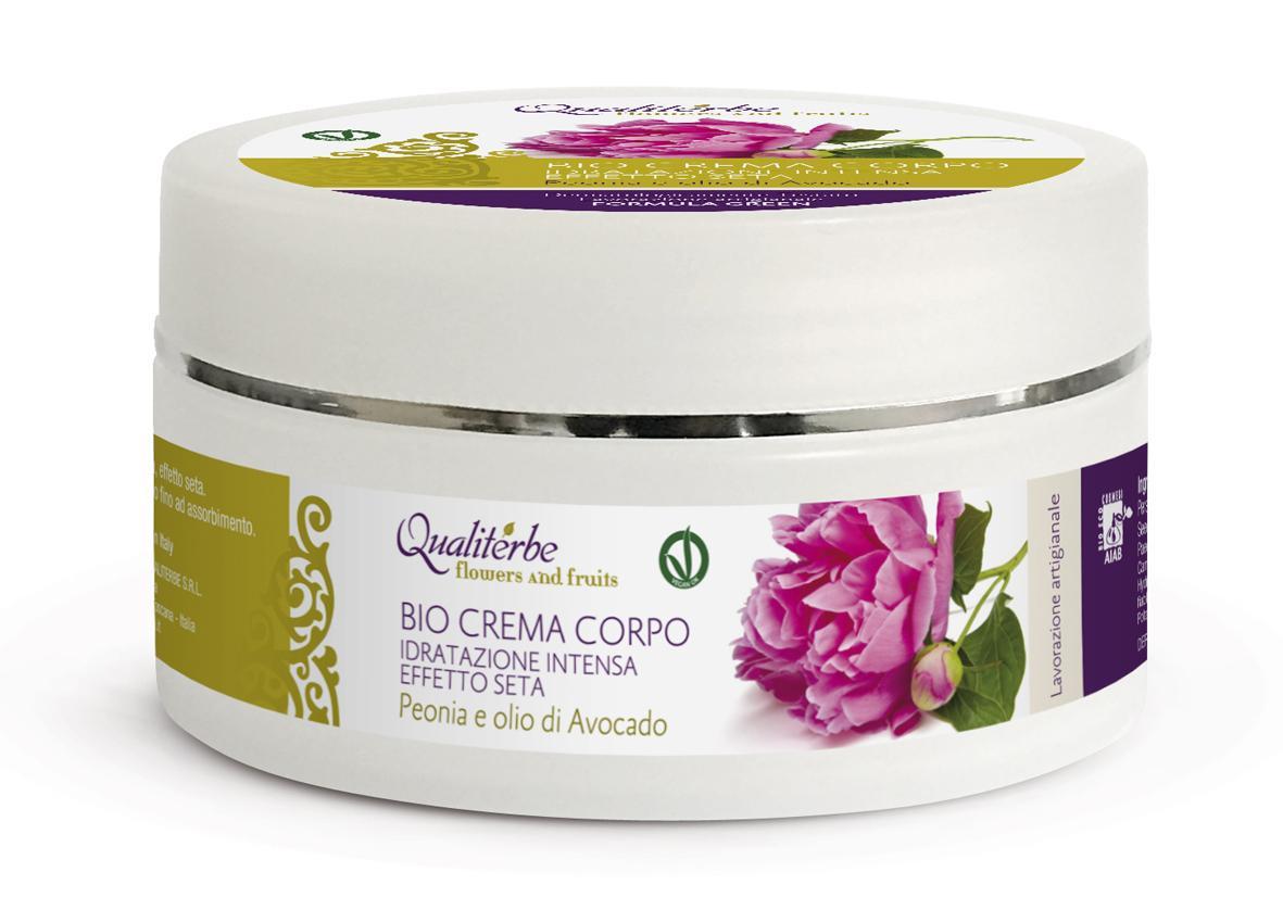 Bio Crema Corpo Flowers and Fruits 100% Naturale by Qualitiberbe
