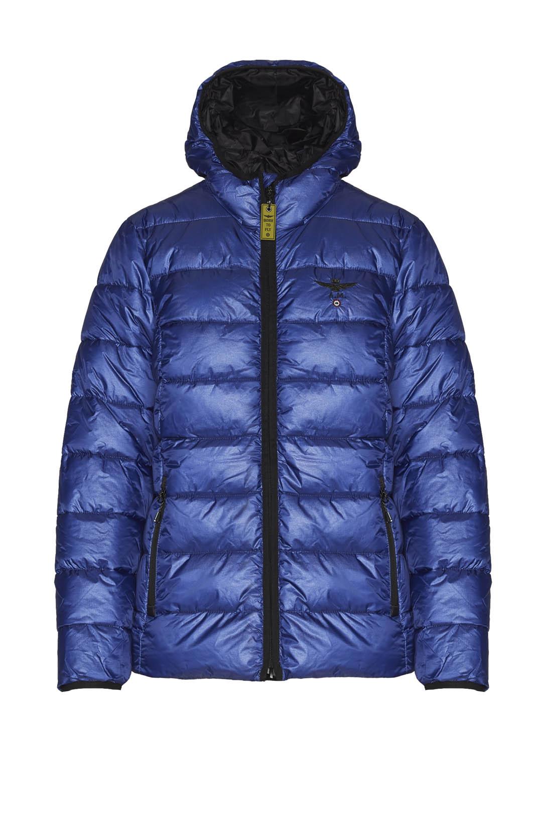 Padded jacket with hood                  1