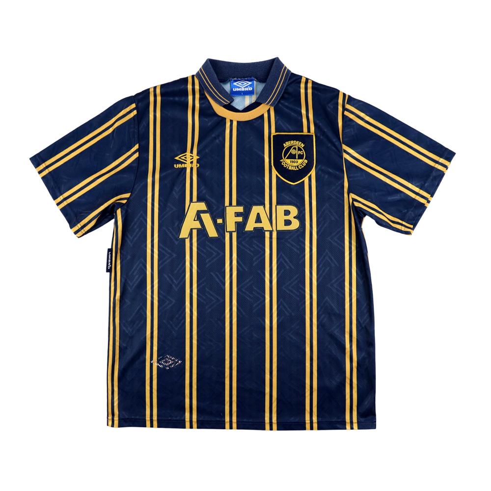 1993-94 Aberdeen Maglia Away L