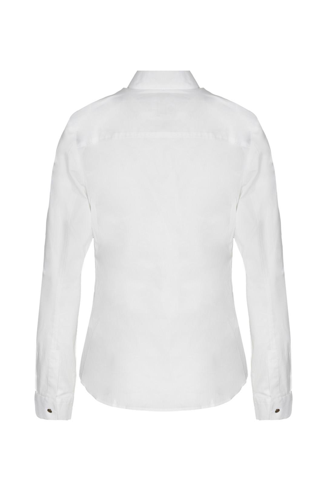 Chemise en coton avec boutons            2