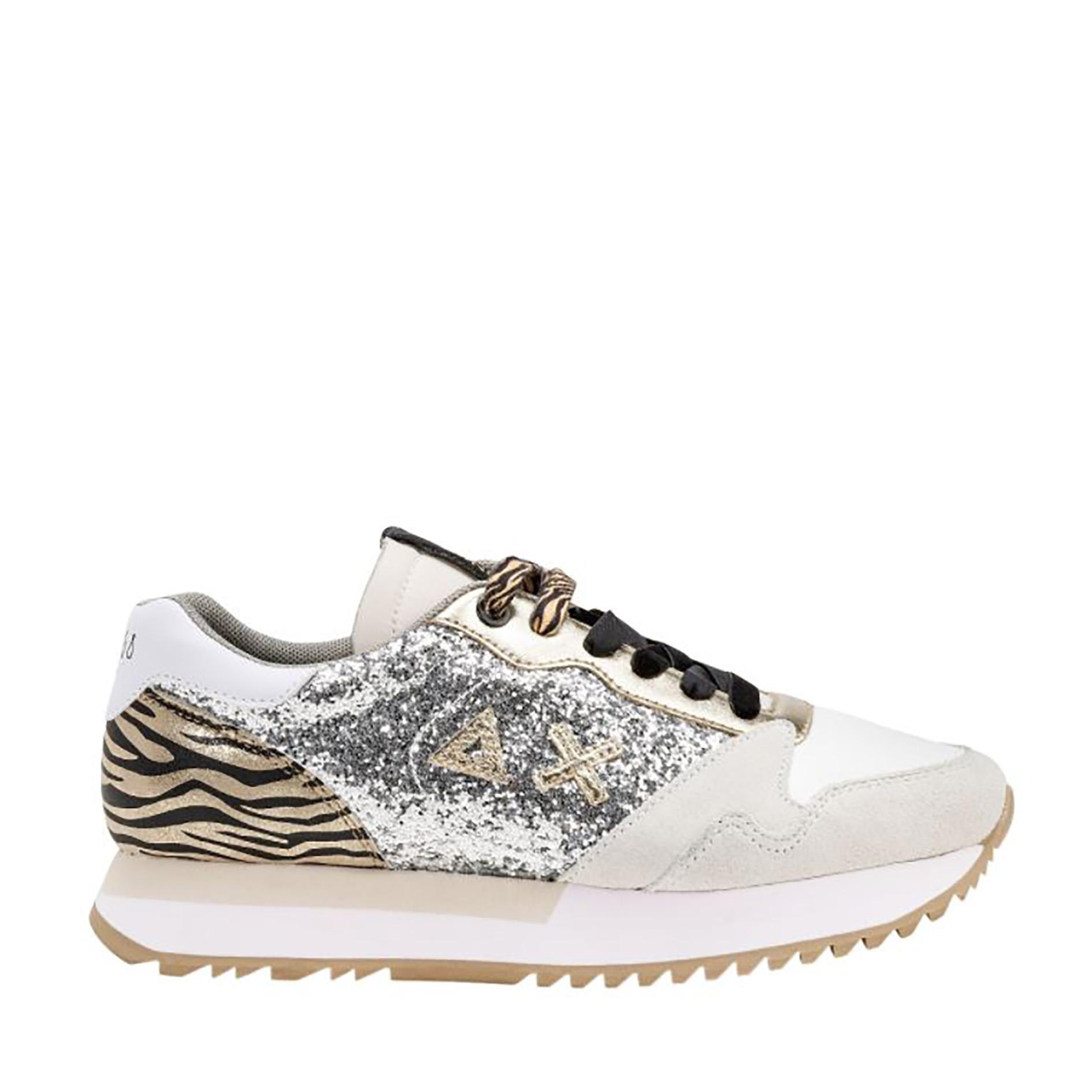 Sneakers Sun68 Kelly Glitter Body Z41211 44ARGENTO -A.1