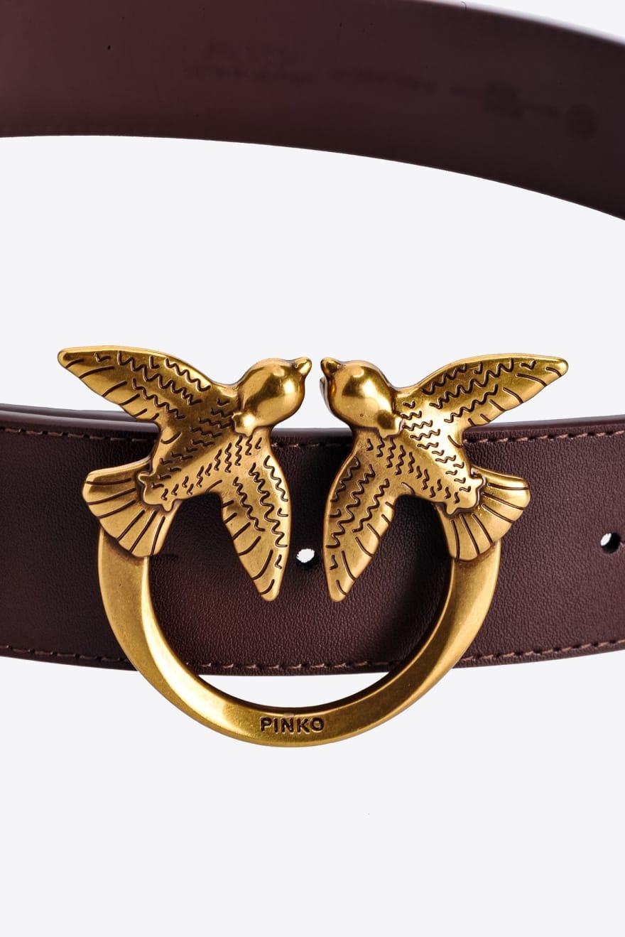 Cintura Love Berry Hips Simply Belt H4 bordeaux Pinko