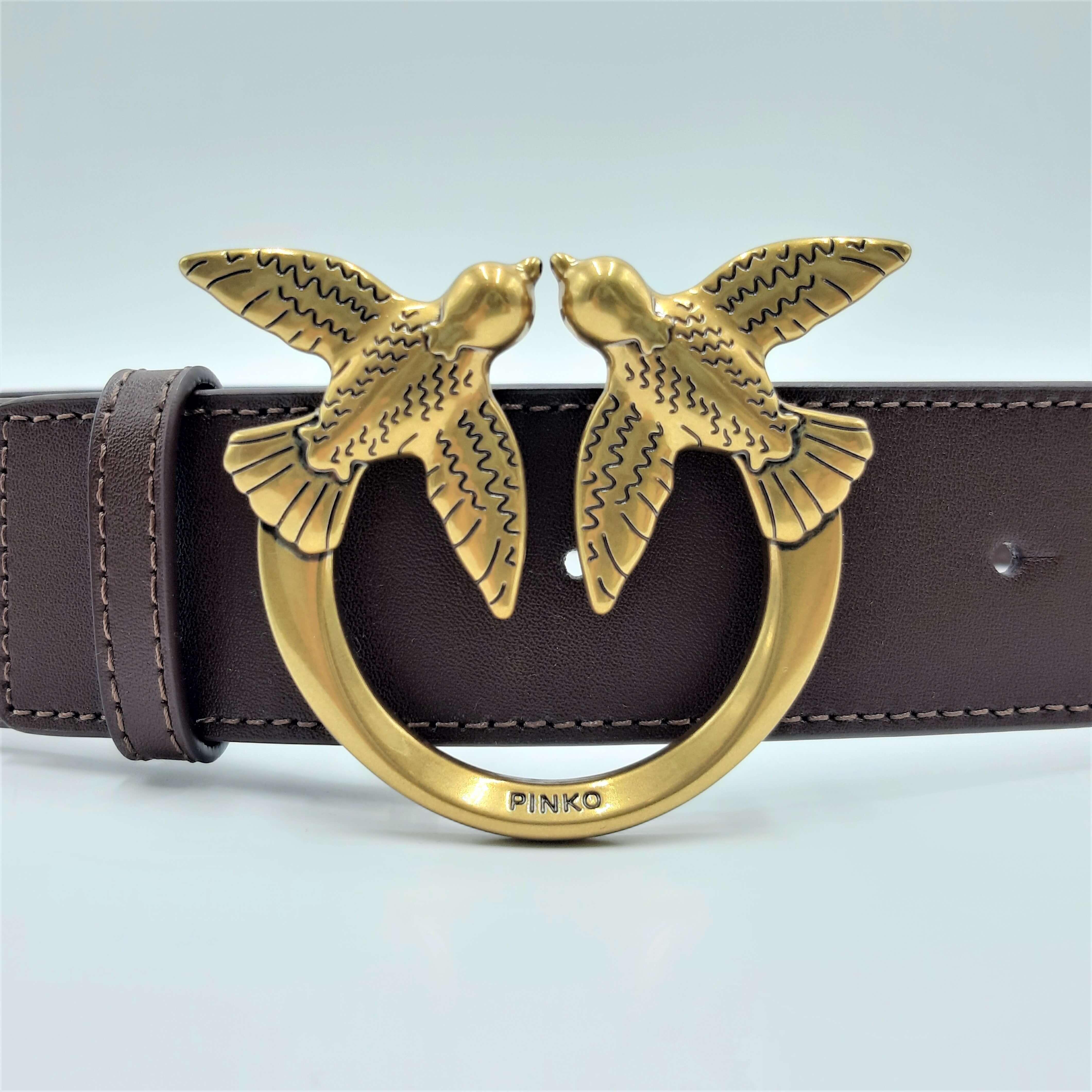 Cintura Love Berry Hips Simply Belt H4 marrone Pinko