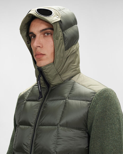SHOPPING ON LINE CP COMPANY LAMBSWOOL/NYLON GOGGLE JACKET NEW COLLECTION FALL/WINTER 2022