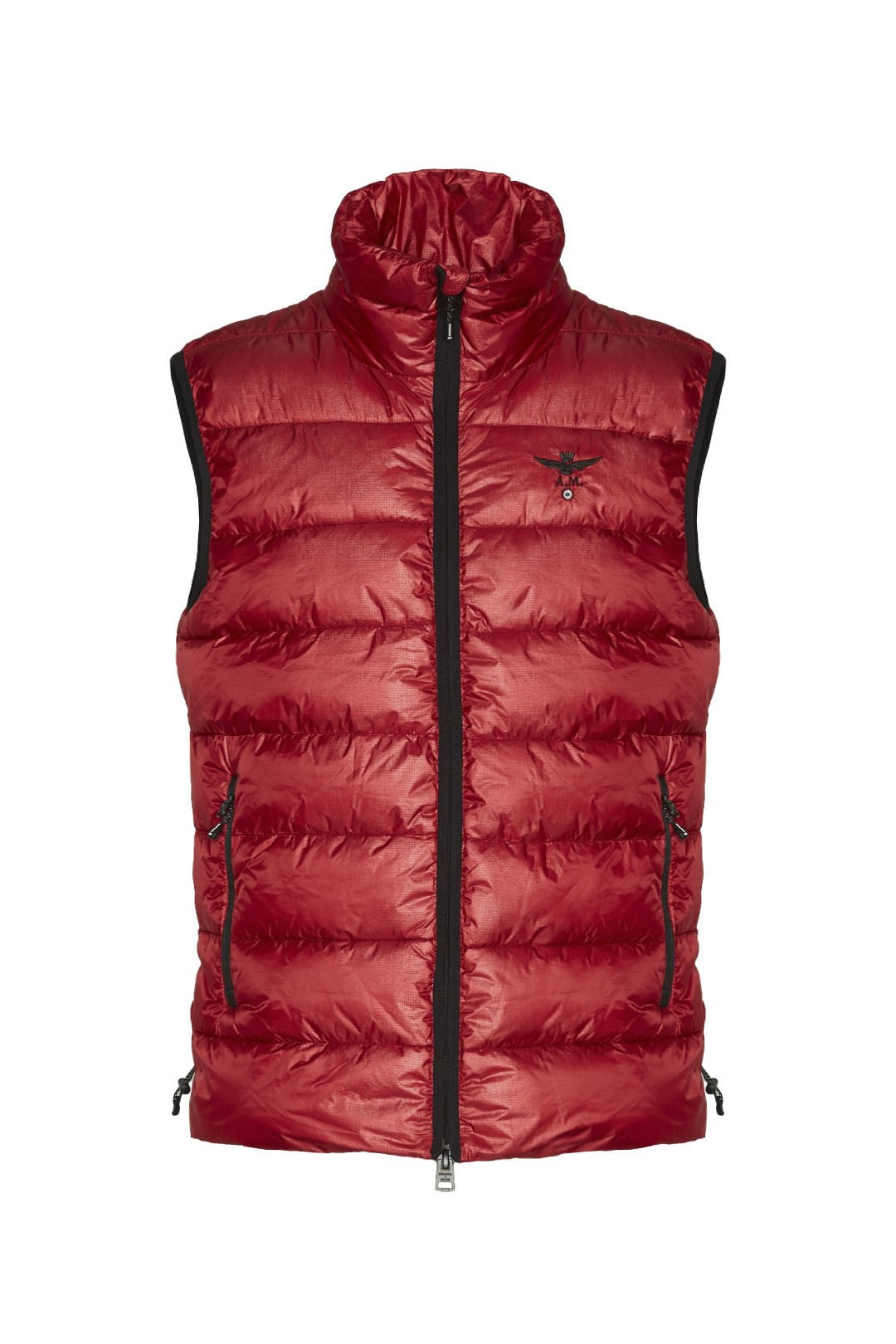 Padded vest with ripstop fabric          1