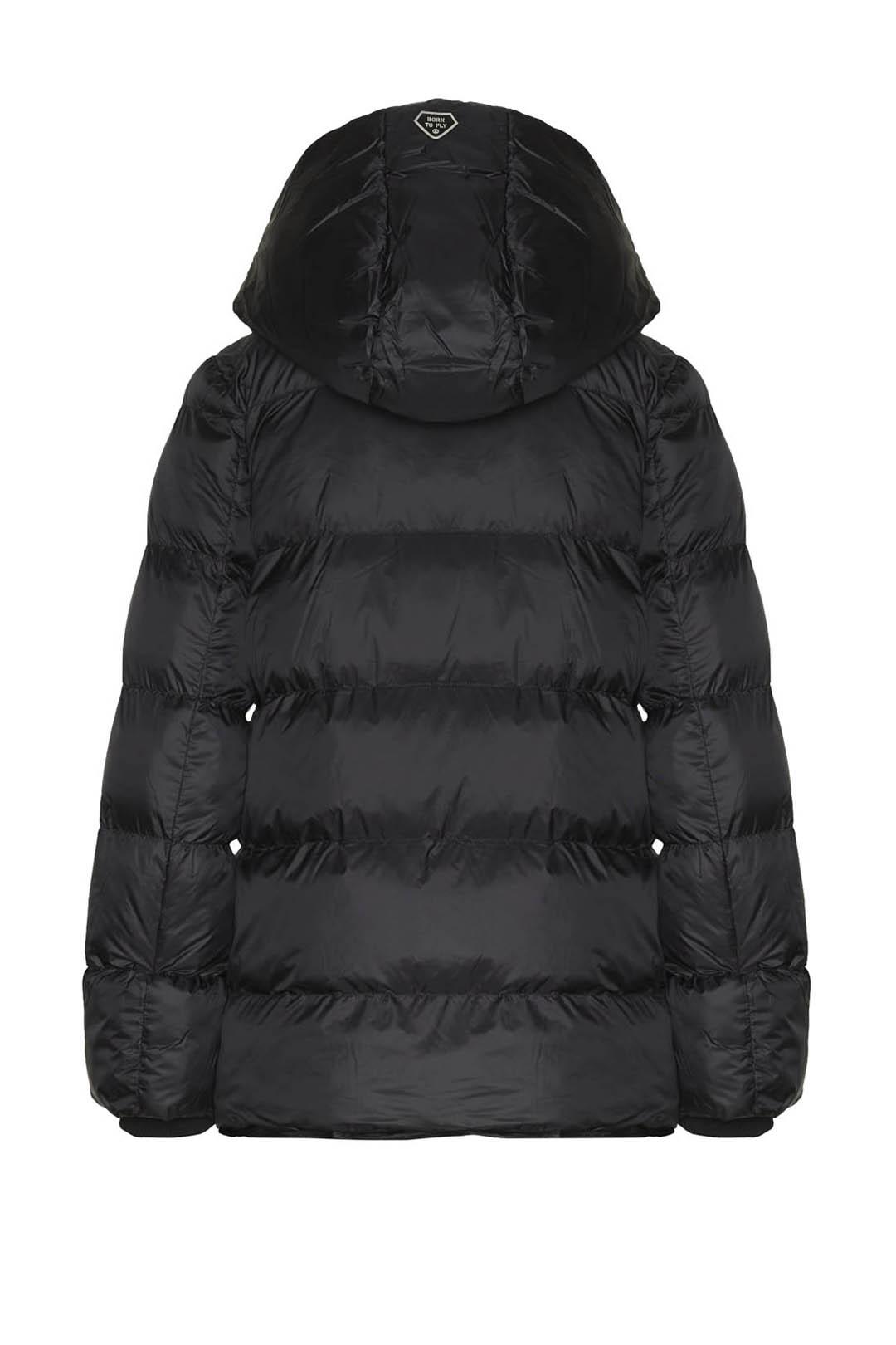 Two-tone padded jacket                   2