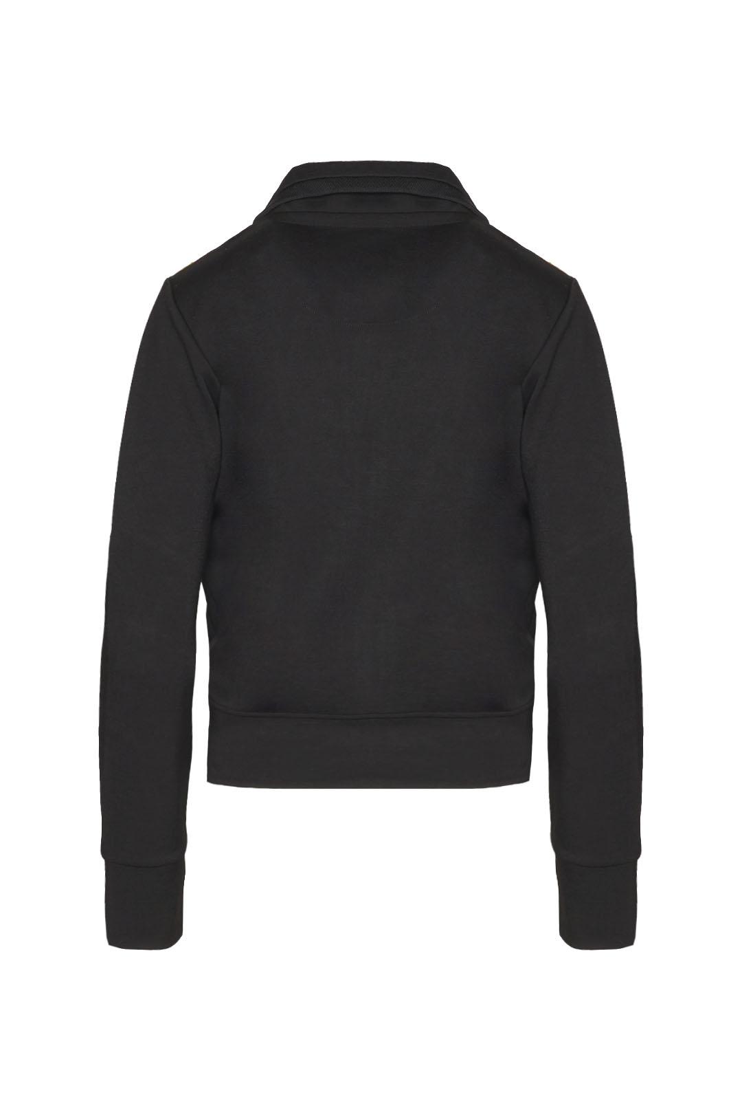 Sweatshirt zippé en interlock            2