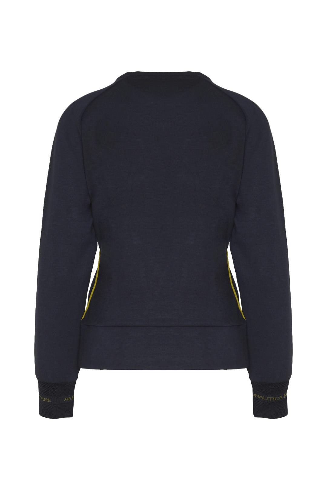 Crew neck interlock sweatshirt           2
