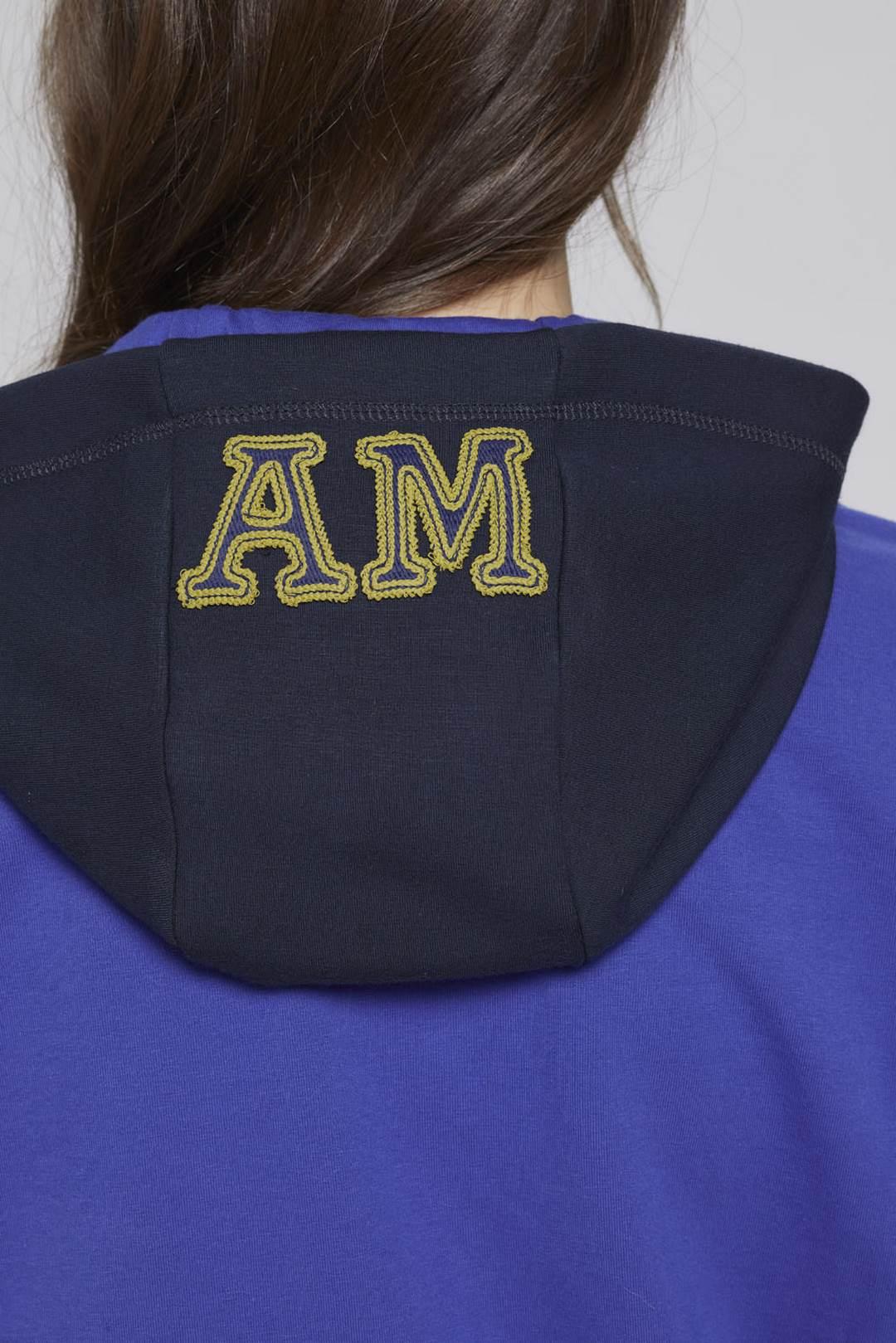 Sweatshirt mit Reißverschluss und Kapuze 5