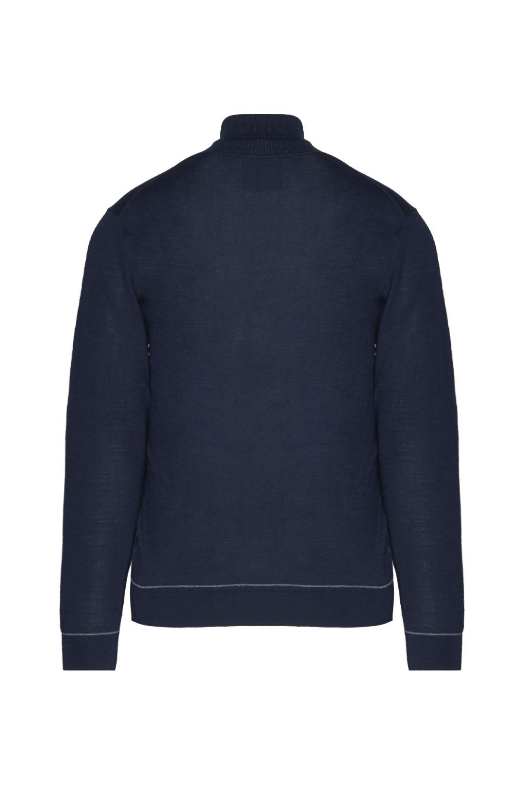 Merino wool blend turtleneck sweater     2