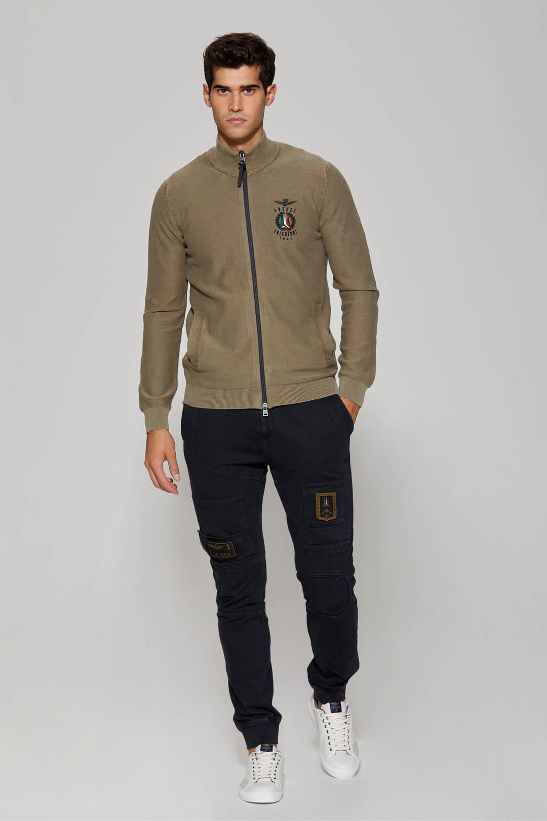 Frecce Tricolori full-zip sweater        4